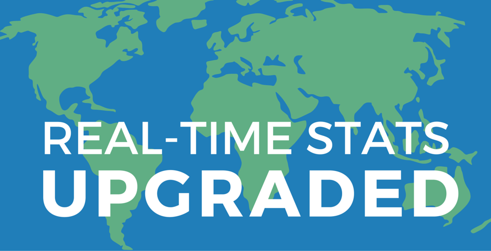 Real-Time Stats upgrade