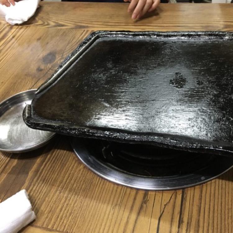 韓国の鉄板料理