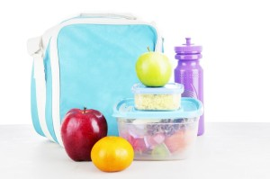 14683894 - shot of a packed lunch for child shot in studio