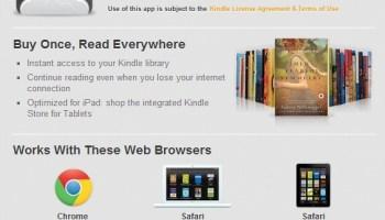 Modified Amazon Kindle Store Avoids Apple's 30% Cut on iPads