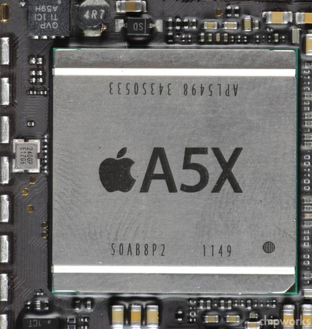 Despite Legal War, Apple iPad 3 A5X Processor Built On
