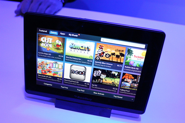 4G LTE BlackBerry PlayBook Announced, Coming August 9 To Canada