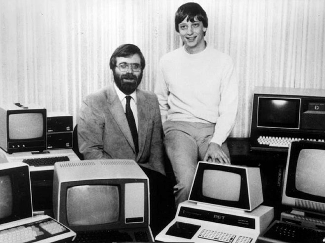 Microsoft, Bill Gates, Paul Allen,