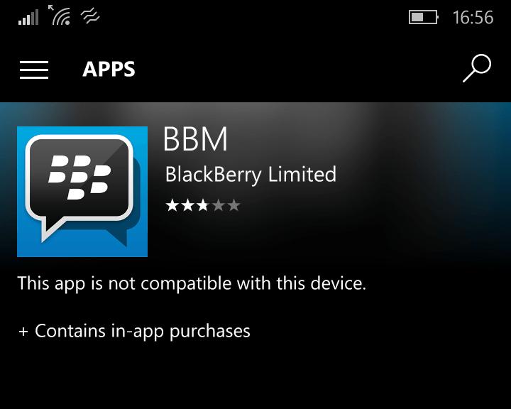 BBM on Windows