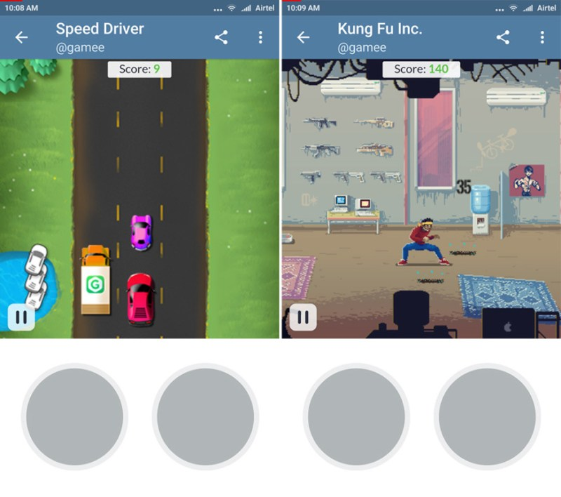 Telegram adds bot-powered games complete with graphics and sounds to