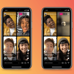 Instagram Live now has option to mute audio and turn off video