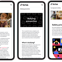 TikTok updates Safety Center, adds guides for parents and guardians