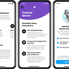 Ticketed Spaces to generate more money for Twitter creators