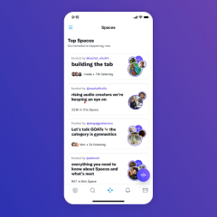 Twitter is officially testing a new way to join Spaces