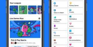 Facebook launches Fantasy Games on mobile