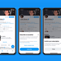 Twitter unveils Newsletter Subscription Cards in Tweets