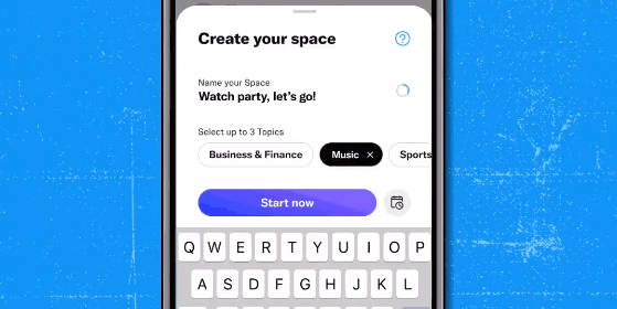 Spaces hosting is now open to everyone on iOS and Android