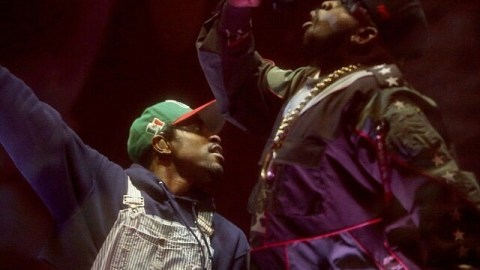 Rap Duo OutKast reunites on first night at Coachella!