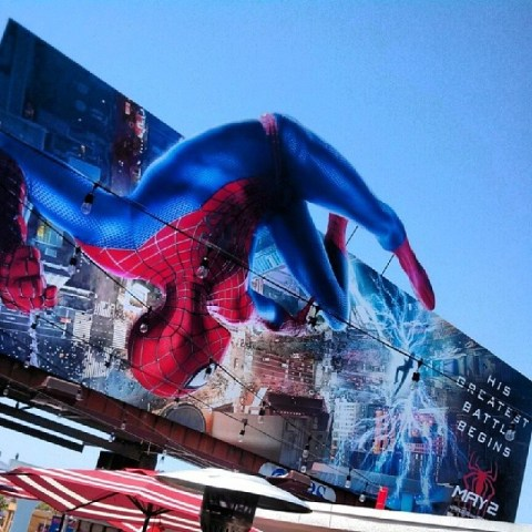 The Amazing Spider-Man 2 Billboard - Photo Taken by Socialbilitty