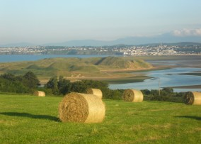 Tramore and the Comeragh Mountains from Saleens