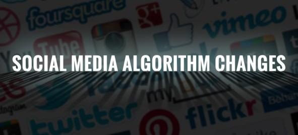 Social media Algo changes