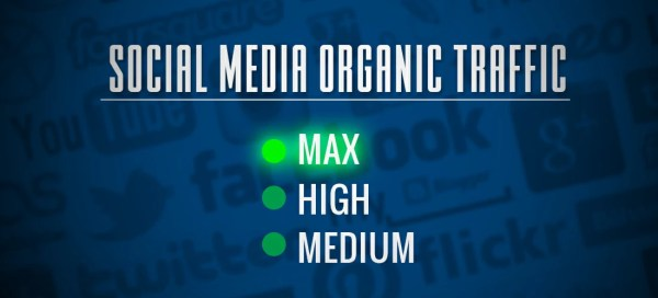 Increase Social Media Organic traffic