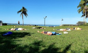 Bay Park Yoga at Van Wezel
