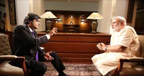 Narendra Modi's Answers to Arnab at A Glance !