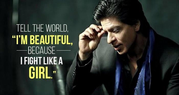 Shah Rukh Khan Writes A Wonderful Poem On Women Empowerment