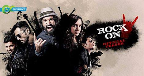 RockOn 2 Teaser Launch, Farhan Akhtar & Arjun Rampal Rock It Again
