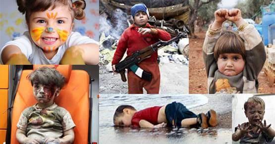 Children born amidst havoc: This Children's Day we celebrate!