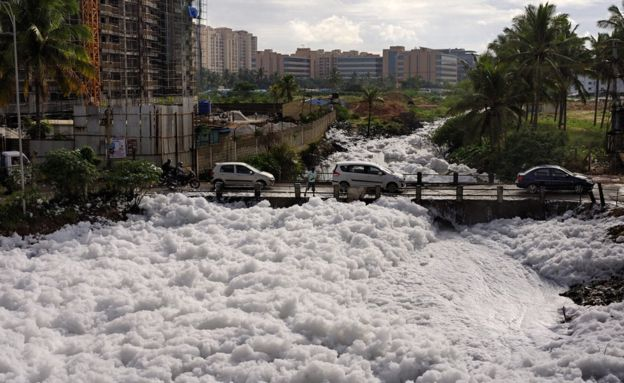 Bengaluru Foam : when authorities will wake up