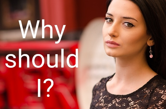 Why should I? Time is to change the social commandments
