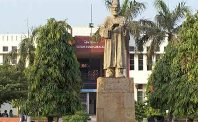 Jamia Millia Islamia students protest against fashion show