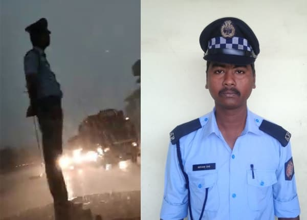 Mithun Das; the traffic cop that is going viral