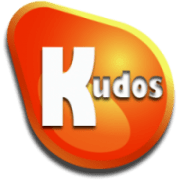 Kudos badge logo