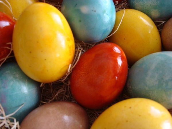 Natural Egg Dye Tips All Things For All Parties