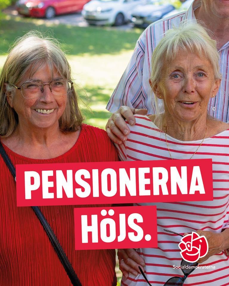 Nu höjer vi pensionerna igen!