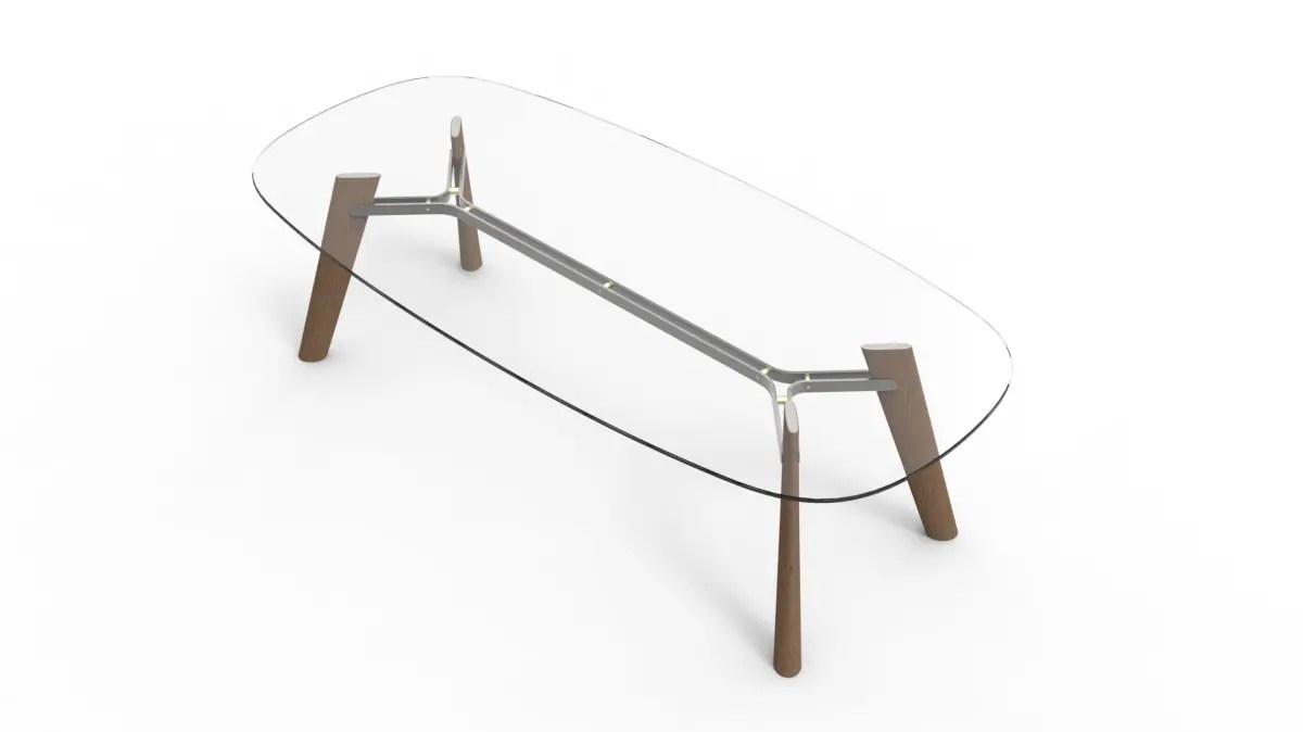 Collezione di tavoli BELEOS, Design: Giulio Iacchetti. Anteprima Salone del Mobile 2017
