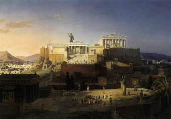 4410-the-acropolis-at-athens-leo-von-klenze