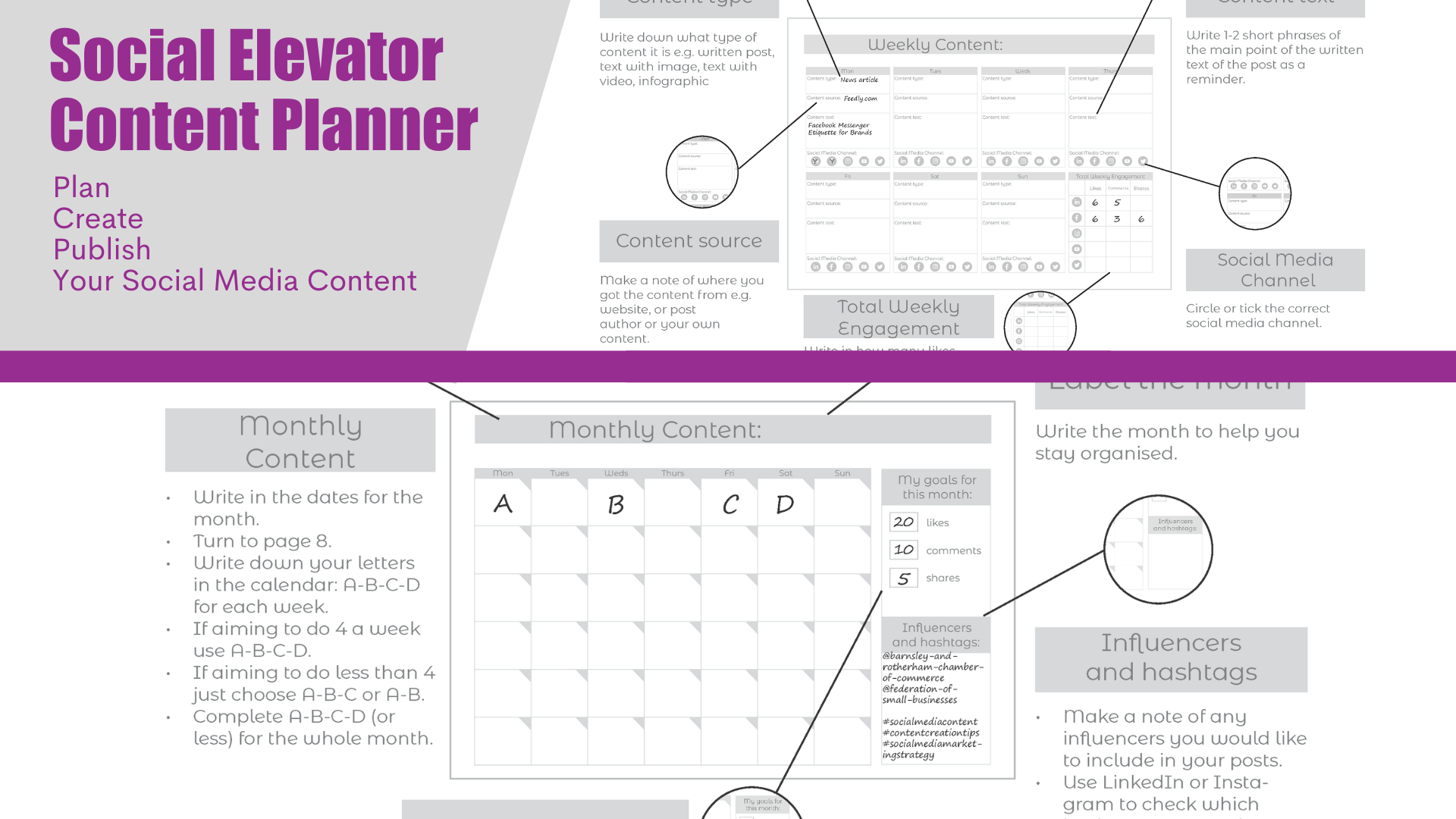 Social Elevator Content Planner example (1)