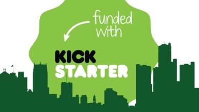 Kickstarter na Androidu