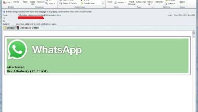 WhatsApp virus stiže u mailu