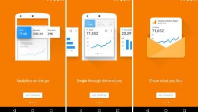 Google Analitika i novi start screen