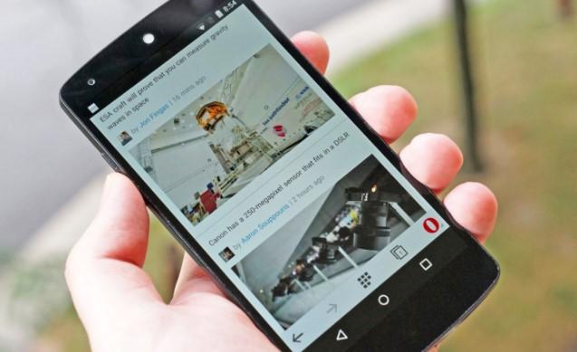 Opera pregledač na mobilnom telefonu