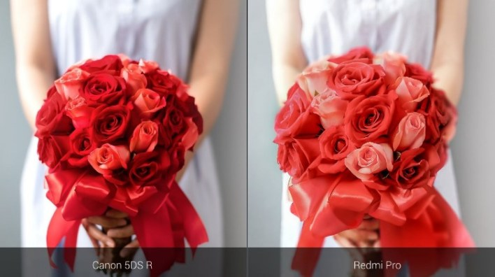 Xiaomi Redmi Pro vs profesionalni DSLR fotoaparat