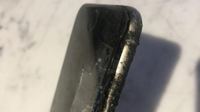 iPhone 6 melted