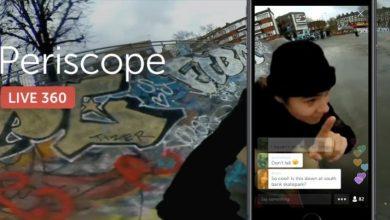 Periscope 360 Live broadcasting