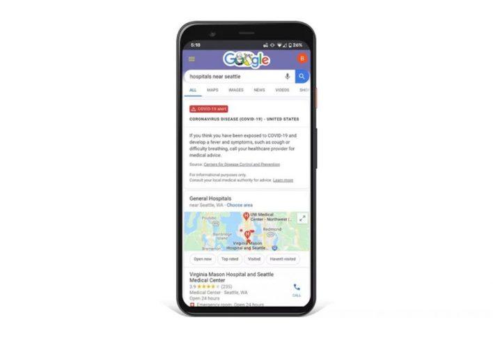 Google-COVID-19-Alert