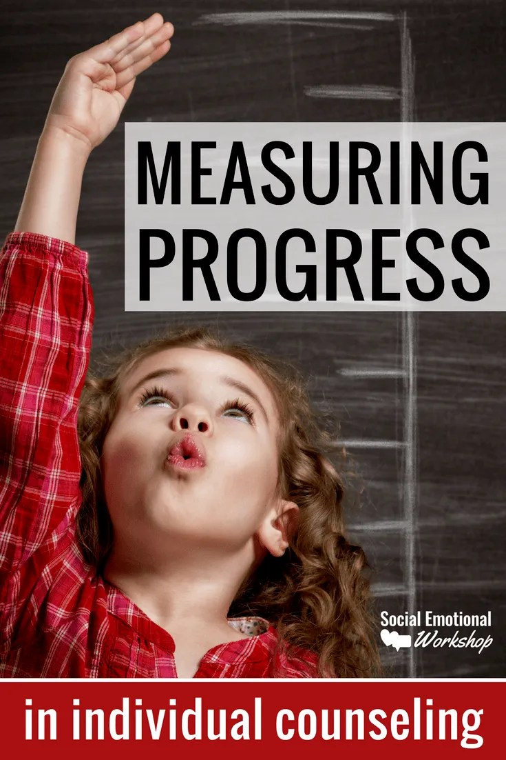 measuring progress in individual counseling