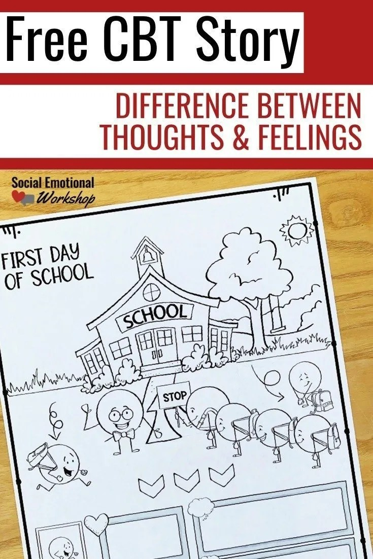 CBT Activities for Kids: How to Explain Thoughts and Feelings