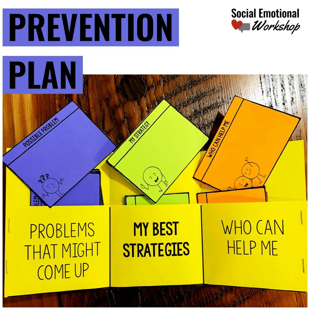 Termination counseling activities: prevention plan