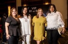 Gilda Vázquez, Desirée Logroño, Tammy Reynoso y Eury Vásquez