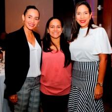 Norma Nanita, Gissel santos y Vilma Gómez