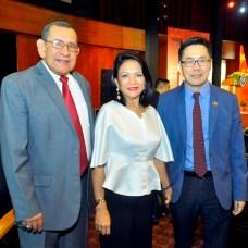 Hidalgo Gratereaux, Sukyien Sang y Zhang Buxin